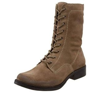 MIA Women's Boot Camp Boot,Stone Suede,6 M-NEW